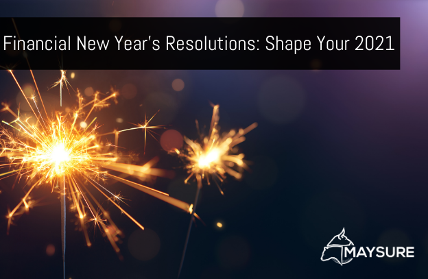 Maysure featured image for Financial New Years Resolutions