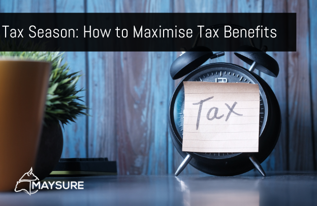 Tax label on clock featured image for Maysure